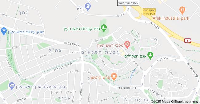 מפת השכונה
